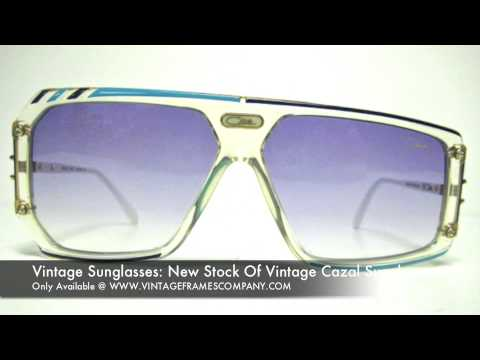 21636c79b2 VIntage Sunglasses  New Vintage Cazal Sunglasses Arrivals - YouTube