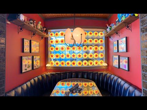 DINING REVIEW: Lamplight Lounge At Pixar Pier | Disney California Adventure