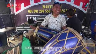 KONCO TURU COVER KENDANG RAMPAK Vokal Erny Agustin - ARGA Entertainment