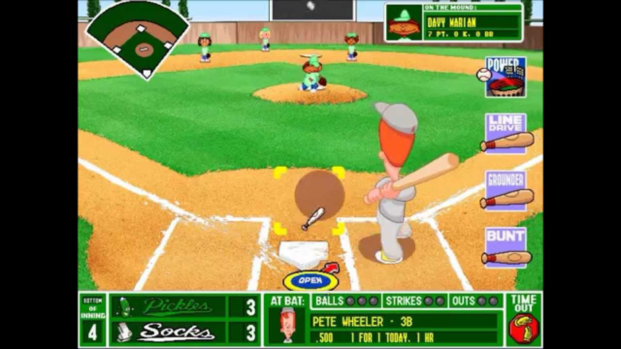 backyard baseball league pc tournament game 17 minty