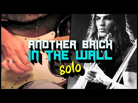 Another Brick In The Wall (Pink Floyd) - Solo - Guitar Tutorial with Matt Bidoglia