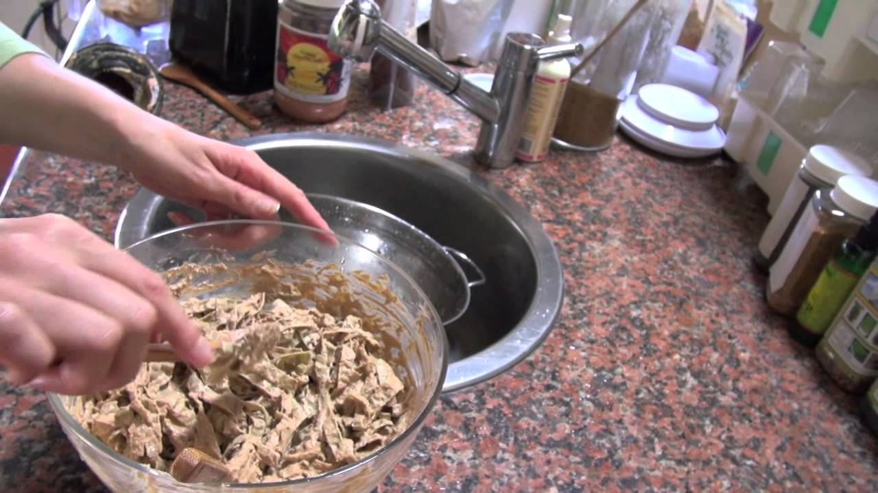 how to make mung bean noodles from scratch