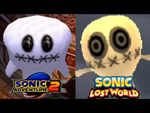 References in Sonic Lost World |