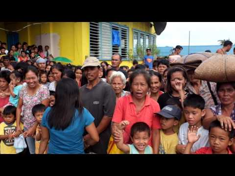 IOM and WFP on the ground in Roxas