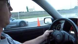 GTR vs. IS300 LS1 383 drag race