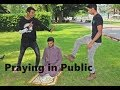 Praying in Public SOCIAL EXPERIMENT! Italy.