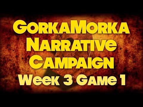 Da Race Week 3 Game 1 - Gorkamorka Narrative Campaign
