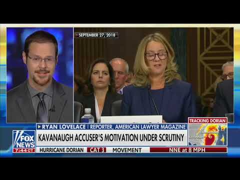 Fox & Friends: Christine Blasey Ford's Lawyer Admits She Was Motivated by Roe v. Wade