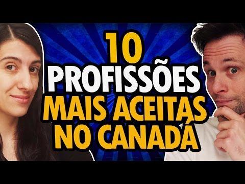 10 PROFISSÕES MAIS ACEITAS NO CANADÁ PARA IMIGRAR - TRABALHAR NO CANADÁ