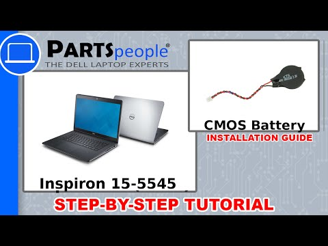 Dell Inspiron 15-5545 (P39F002) CMOS Battery How-To Video Tutorial