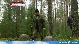 Странное захоронение времен  ВОВ. ww2(В тех местах советские войска впервые смогли окружить немецкие части. Там проходили ожесточённые бои. Поис..., 2012-10-12T15:04:27.000Z)