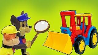 КУДА ПРОПАЛ ТРАКТОР? Мультики с игрушками Щенячий патруль. Мультфильмы для детей, новые серии 2018