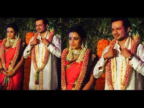 Trisha Krishnan and Varun Manian Engaged Today