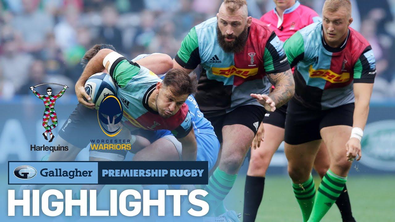Harlequins v Worcester - HIGHLIGHTS   Entertaining 64 Point Game!   Gallagher Premiership 2021/22