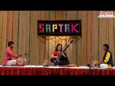 Ms. Amita Dalal - Sitar (Saptak Annual Festival 2018)