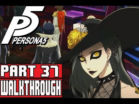 Persona 5 Gameplay Walkthrough Part 37 Akechi Recruitment & Shadow Sae Palace Part 1