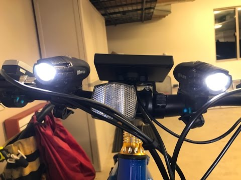 Review: Super Bright USB Rechargeable Bike Light Blitzu 320 Lumen Waterproof Cycling Safety
