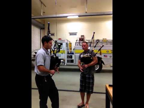 FD Farewell to Camraw Bagpipes