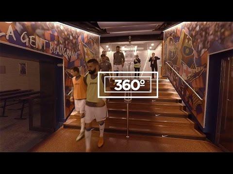 Contenido exclusivo Realidad virtual Inside 360º F.C. Barcelona-C.D. Leganés