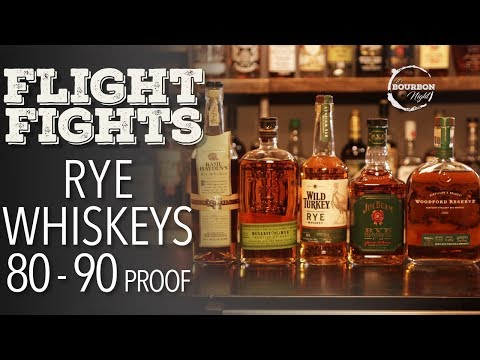 Best Rye Whiskey 80 to 90 Proof? (Blind Flight Fight)