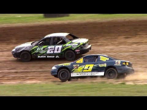 Kids Class Mini Stock Heat | McKean County Family Raceway | 6-16-18