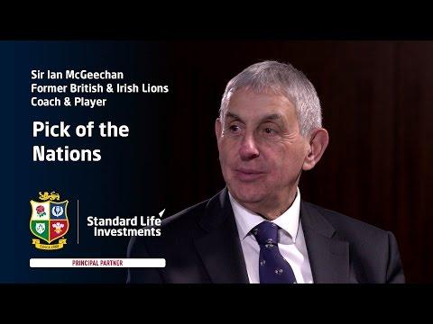 Sir Ian McGeechan pick his potential British & Irish Lions players