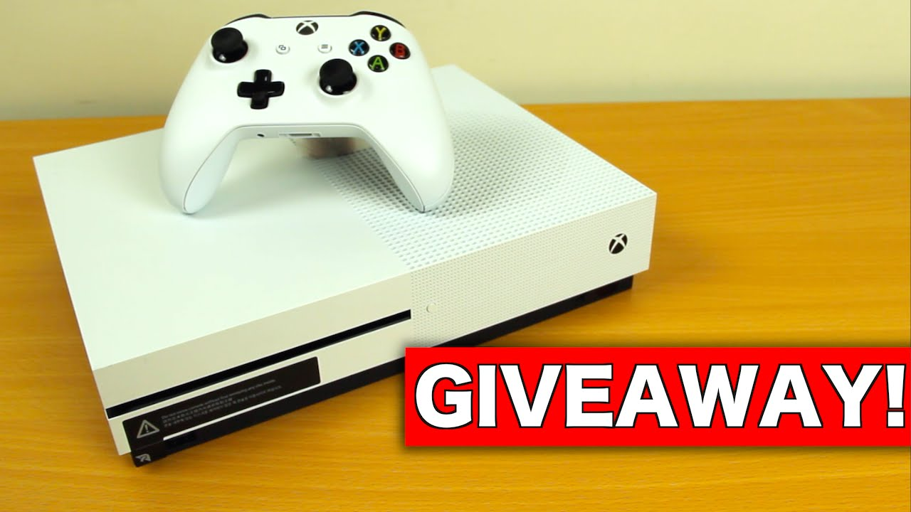 xbox one s giveaway youtube. Black Bedroom Furniture Sets. Home Design Ideas