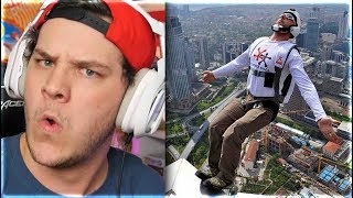 The Most Insane Base Jump - Reaction
