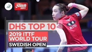 DHS Top 10 Points | 2019 ITTF Swedish Open