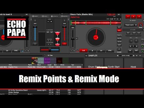 Virtual DJ 8: Remix Points & Remix Mode