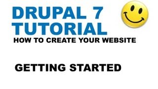 Drupal 7 Tutorial - Getting started - How to create your website - YTJunkie.com - Part 1