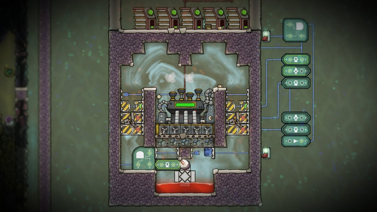 Steam Turbine Experiment! Oxygen Not Included Occupational Upgrade