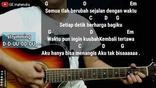 Kunci Gitar PERGI HILANG DAN LUPAKAN - Remember Of Today | Belajar Chord Gitar