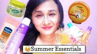 🌞Summer Essentials | Every Product that you need to have this Summer | Ishika Dhataria