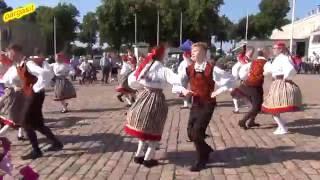 Folk dance - Loksa Tantsijad, Kihnu polka 20.8.2016