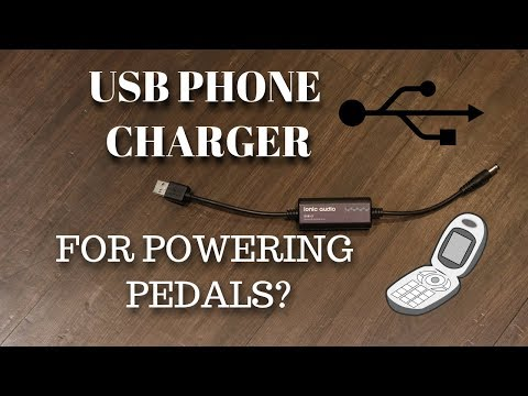POWER BANK AS PEDAL POWER SUPPLY?: Ionic Audio 5v USB to 9v DC Converter (2000mA)