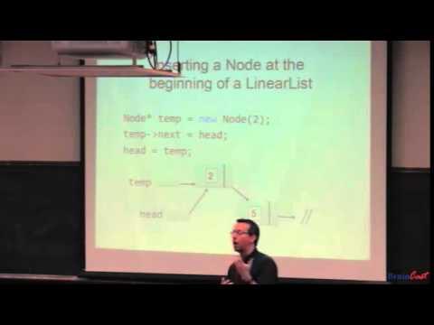 Intermediate C++ 18 -- Linked Lists, Iterator