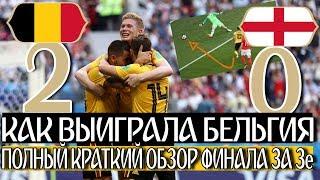 видео Англия — Бельгия. Результат матча, статистика, факты