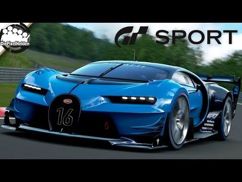 GRAN TURISMO SPORT - Bugatti Vision Gran Turismo @ Nordschleife - Let's Play GT Sport thumbnail
