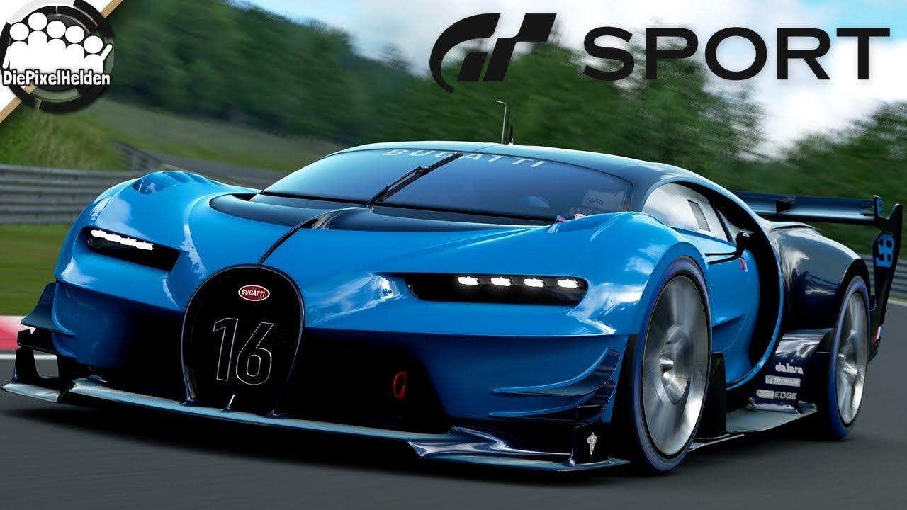 Gran Turismo Sport Bugatti Vision