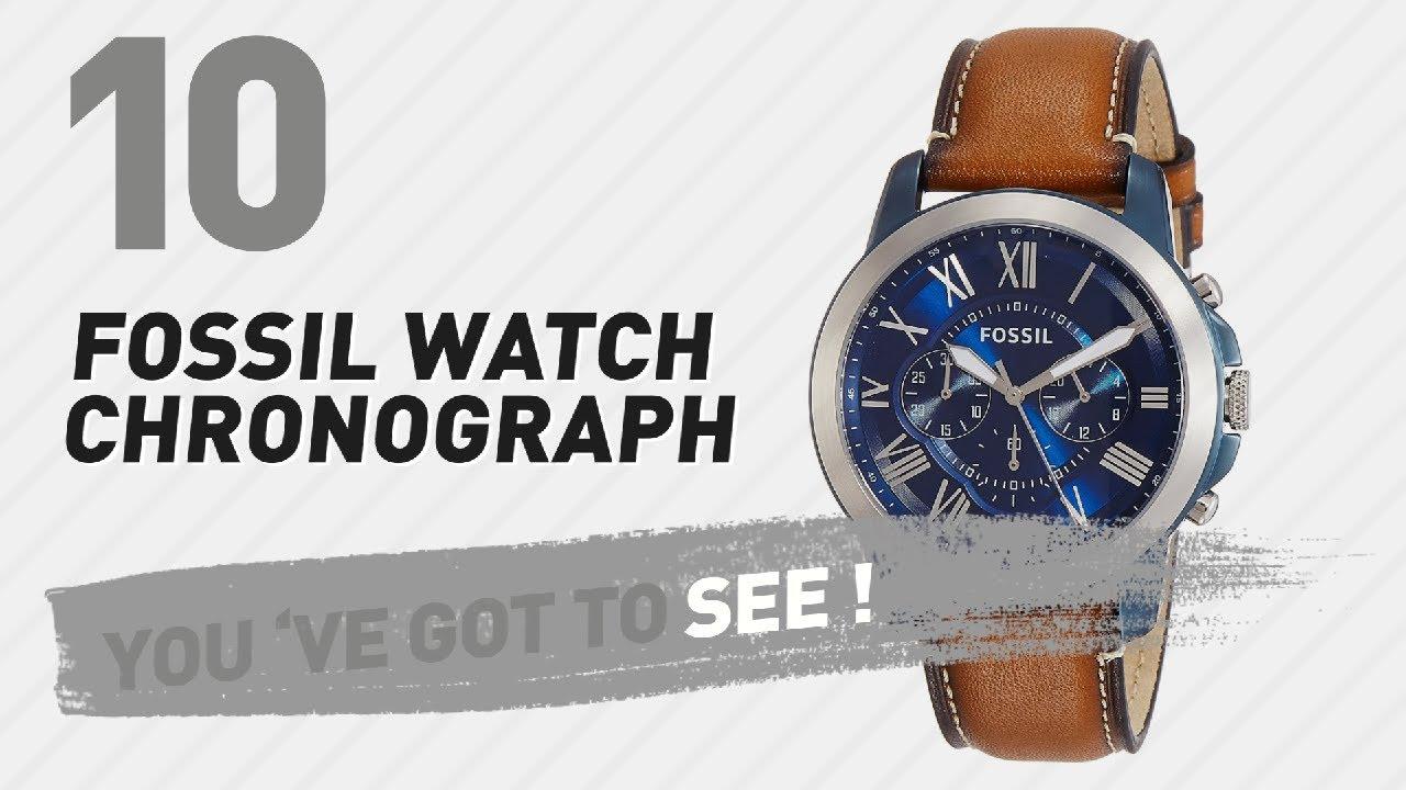 Top 10 Fossil Watch Chronograph New Popular 2017 Jam Tangan Original Jr1354 Nate Black Leather