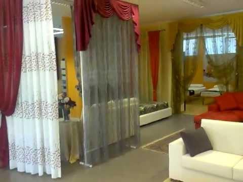 Negozio tende per interni cucina soggiorno camera da letto tendaggi moderni classici youtube for Immagini arredamento