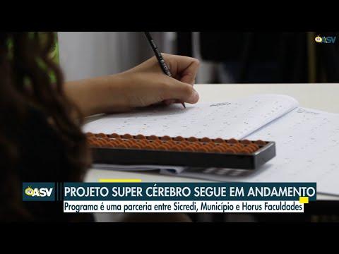 Projeto Super Cérebro continua em andamento em Pinhalzinho
