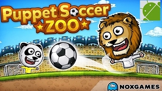 Puppet Soccer Zoo Football - Android Gameplay HD