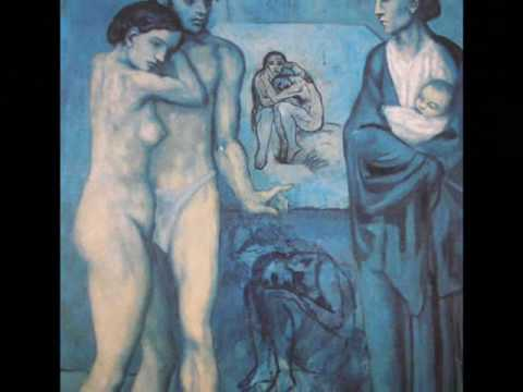 Picasso - his academic works, blue period and rose period - YouTube