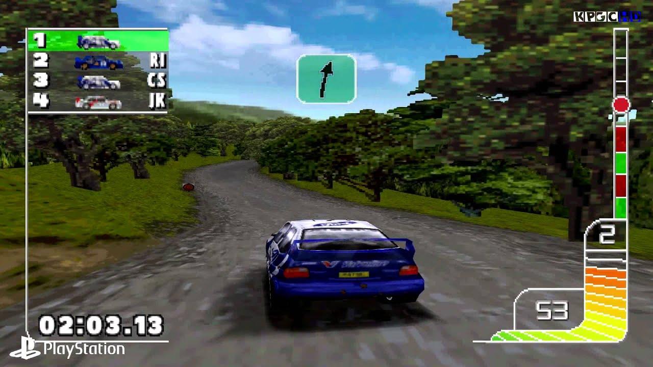 Resultado de imagen de colin mcrae rally 1 psx