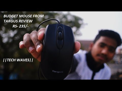 REVIEW of BUDGET friendly mouse from TARGUS ||TECH WAVES ||