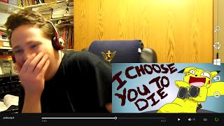 Repeat youtube video Ranger Reacts: StarBomb Animated - I Choose You To Die
