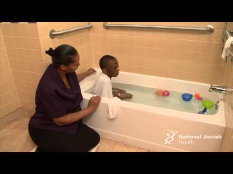 Daily Bathing for Atopic Dermatitis (Eczema)