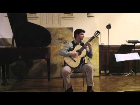 "Accademia Romana di Musica – J. Rodrigo ""Tres piezas Espanolas"" – A. Sabbatini"